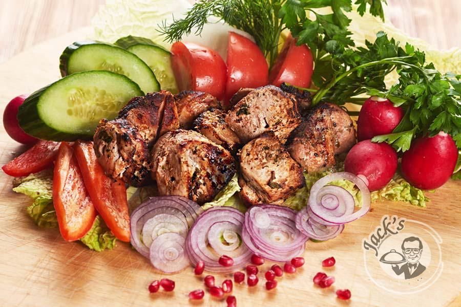 Шашлык из свинины по-грузински рецепт пошагово